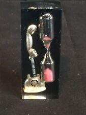 New listing Vintage Telephone Talk Timer Hourglass Sand Timer