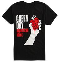 Green Day AMERICAN IDIOT T-Shirt NEW 100% Authentic & Official Bravado