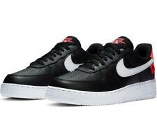 Nike Air Force 1 Black White Orange Worldwide *Rare* Size 12