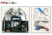 NOKYA Cosmic White 5000K Halogen Light Bulbs+Wire Harnesses 9006 HB4 80W