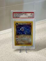2000 Pokemon Team Rocket Dark Machamp 1st Edition #10 Holo PSA 9 Mint 10/82 Rare