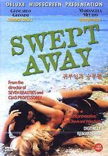 Swept Away (1974) / Lina Wertmüller, Giancarlo Giannini / DVD, NEW