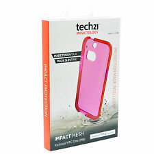 Original Tech21 D30 Impact Mesh Shock Absorb Case Cover For Genuine HTC One M8