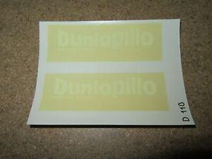 304Q Decal D118 Dunlopillo Mattress Seat Decal 9,7 CM X 7,2 CM