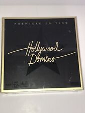 Hollywood Domino Premier Edition Game Hasbro Parker Bros Brand New 2008