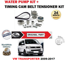 FOR VW TRANSPORTER SHUTTLE CAAB CAAC CCHA 2009-2015 TIMING BELT KIT + WATER PUMP