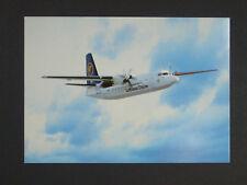 Lufthansa CityLine - Fokker 50 - Airliner Card - Postcard