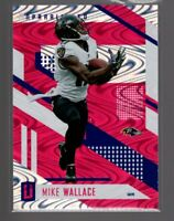 2017 Panini Unparalled Pink #31  MIKE WALLACE  RAVENS