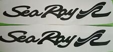 SEA RAY BOAT STICKERS 200MM X 2 CHOOSE YOUR COLOR
