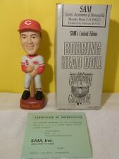Johnny Bench Cincinnati Reds SAM Bobblehead MINT NIB w/COA