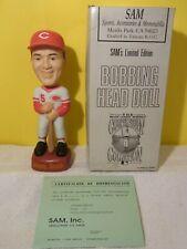 Johnny Bench Cincinnati Reds SAM Bobblehead MINT NIB w/COA