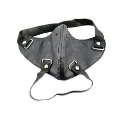 Punk PU springy Gothic Cosplay Rock Leather steam punk mask Motorcycle Mask