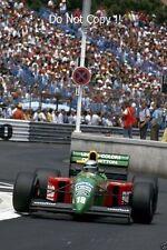 Alessandro Nannini Benetton B190 Monaco Grand Prix 1990 Photograph