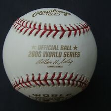 2006  Rawlings Official World Series Ball ST LOUIS CARDINALS