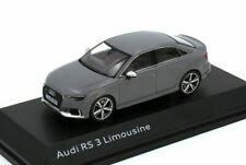 1:43 iScale KYOSHO 2016 AUDI RS 3 4-door sedan gray DEALER PROMO !