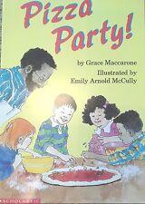 Teacher Big Book PIZZA PARTY Shared Reading SCHOLASTIC Kindergarten 1st
