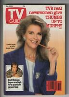 Tv Guide Mag Candice Bergen December 23-29, 1989 110319nonr