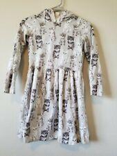 Carters Girls Dress 12 Kittens Cats Gray EUC Clothes