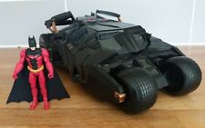 DC Comics Rouge Batman Dark Knight BATMOBILE Tumbler Grande Voiture 1:18 Sons RARE