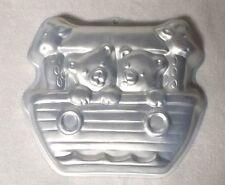Wilton NOAH'S ARK Cake Pan Tin Mold 2105-2026 Bears Giraffes Baby Shower Boat