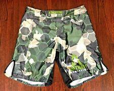 Anthem Athletics Mens Mma Shorts Kick Boxing Wrestling Martial Arts Camo Green~L
