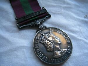 GSM GENERAL SERVICE MEDAL - CYPRUS CLASP