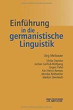 Einführung in die germanistische Linguistik von Meibauer... | Buch | Zustand gut