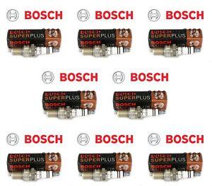 Bentley Continental Bosch Spark Plugs 02422256248RE 7913 Set of 8
