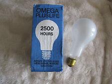 1 x OMEGA 200w Es E27 Lampada 240V lampadina Pearl qualità fatta in UK