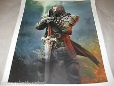 Dragon Age Followers BLACKWALL Lithograph Print Limited Edition #206 Inquisition