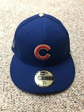 NWT New Era Chicago Cubs Royal 2016 Gold Program World Series Champions 7 1/8