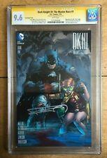 Dark Knight III The Master Race #1 1:500 Jim Lee Variant CGC SS 9.6 Frank Miller
