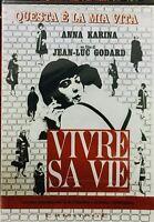 Vivre sa vie. Questa è la mia vita (1962) DVD NUOVO Jean Luc Godard Anna Karina