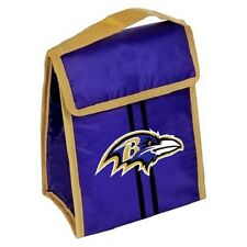 """Baltimore Ravens Insulated Lunch Bag Cooler NEW 9"""" x 7"""" x 4.5"""""""