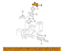 GM OEM Engine Motor Transmission-Motor Mount Bracket Right 15062380