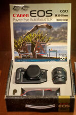 Canon 50th Anniversary box with original never used EOS650+28-70mm +Flash