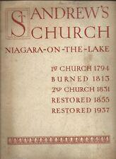 St. Andrews Church Niagara-on-the-Lake ONT Canada 1938 Photograph History