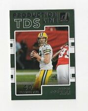 2017 Donruss Football Aaron Rodgers Production Line TDS