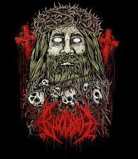 BLOODBATH cd lgo LESOUS JESOUS Official SHIRT SMALL New fathomless mastery