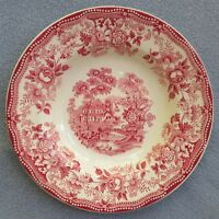 Royal Staffordshire Pottery Clarice Cliff Pink Tonquin Soup Bowl England