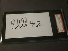 Evgeny Kuznetsov AUTOGRAPHED 3X5 INDEX CARD-SGC SLAB-ENCAPSULATED-CAPITALS