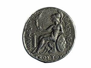 VF Kingdom Of Thrace, Skostokos AR Tetradrachm. Circa 277-260 BC - 29MM, 17.2GR