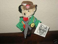 Ganz Wee Bear Village Teddy Hobo Clown ~ Skids ~New NWT