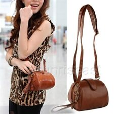 New Bag Vintage celebrity women PU Leather Messenger Shoulder Handbag Camera Bag