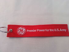 GE Premier Power for the US Army Remove Before Flight Tag Keychain / New