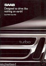 Auto Brochure - Saab - 900 9000 Series - Canadian Edition - 1988 / 1989 (AB58)