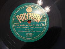 "CLARA OSTO ""Det Er Maaden At Gore Det Paa"" RARE 1948 DANISH 10"" 78rpm NMINT+"