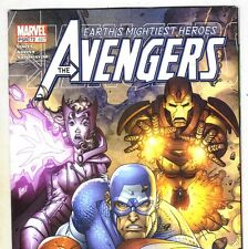 THE AVENGERS #487 Captain America & Iron Man from Nov. 2003 in F/VF condition