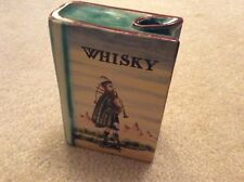 Vintage Italian Majolica Whiskey Decanter