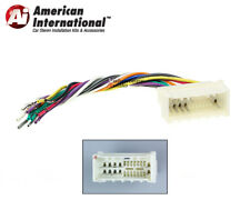 Car Stereo CD Player Wiring Harness Wire Aftermarket Radio Install Plug